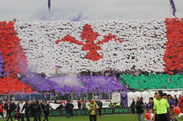 Il giglio, simbolo di Firenze e della Fiorentina