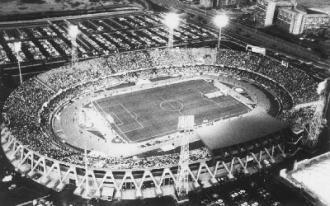 Veduta aerea dell'impianto negli anni '90