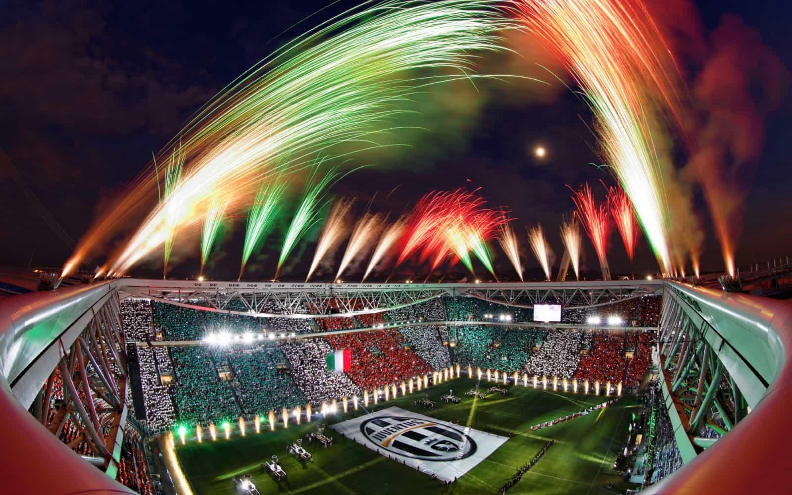 I lavori di costruzione dello Juventus Stadium