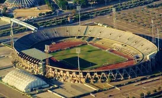Lo Stadio Sant'Elia negli anni '80