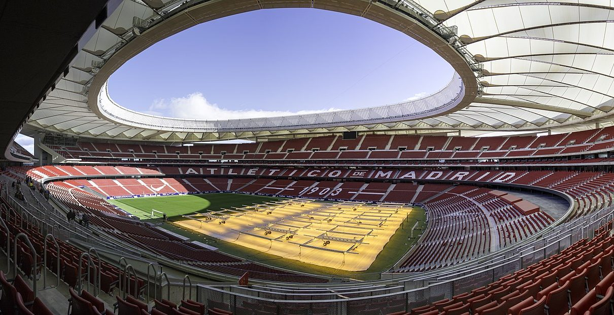 Stadio Atletico Madrid Wanda Metropolitano