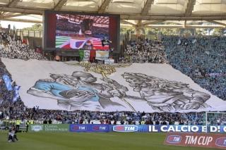 Coreografia della Nord della finale di Coppa Italia 2012/13