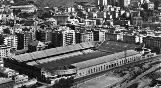 Lo Stadio Ferraris nel 1970