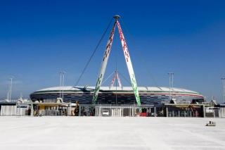 Lo Juventus Stadium visto dall'esterno