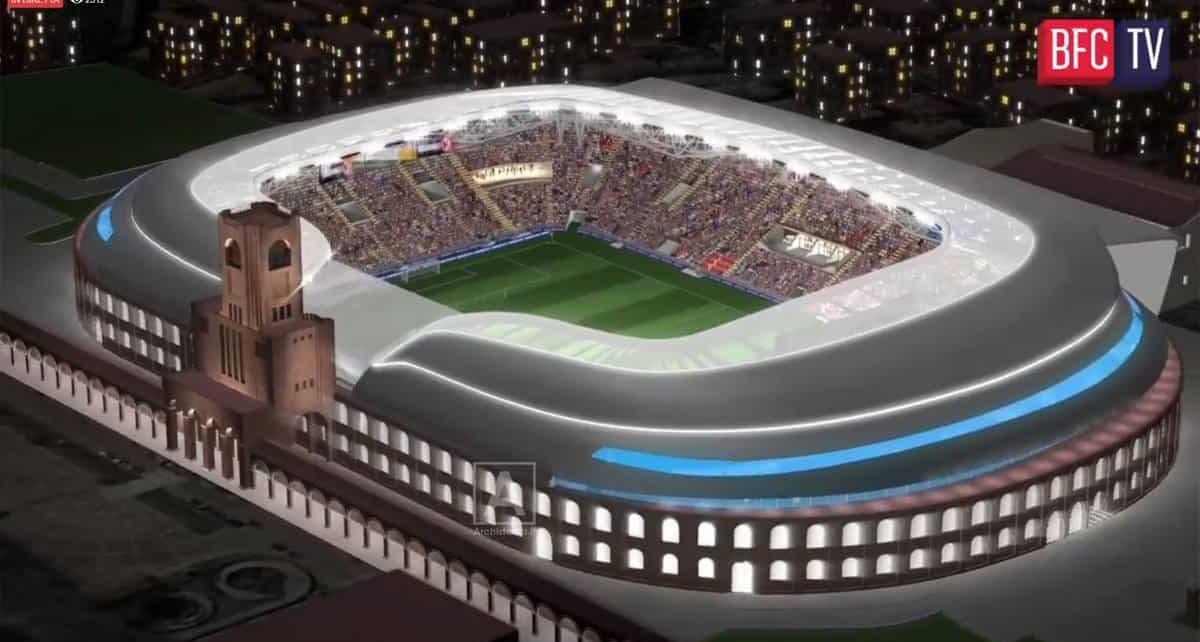 Nuovo stadio Bologna